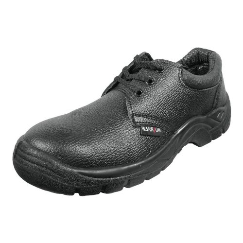 Warrior Black Safety Shoes